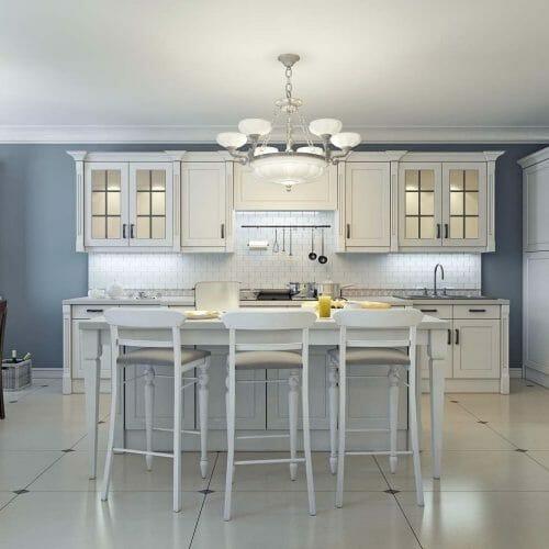 art deco kitchen tile