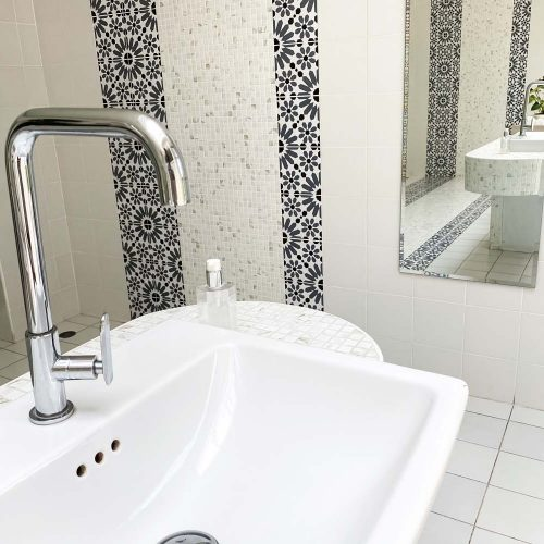 modern water faucet bathroom