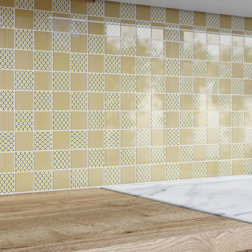 mosaic backsplash tile 1
