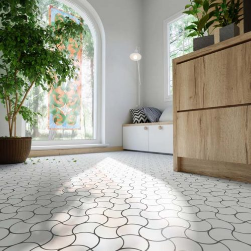 mosaic tiled floor nh 1