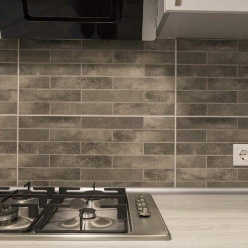 tiled backspash