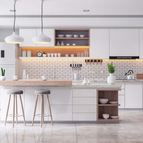 tiled kitchen nh